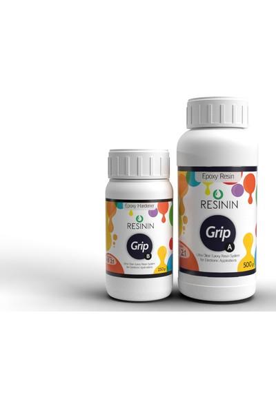 Resinin Grip 750 Gr A+B Elektronik Kullanımı Için Epoksi Reçine (500 Gr Reçine + 250 Gr Sertleştirici)