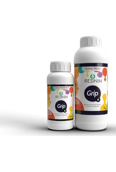 Resinin Grip 1500 Gr A+B Elektronik Kullanımı Için Epoksi Reçine (1 Kg Reçine + 500 Gr Sertleştirici)