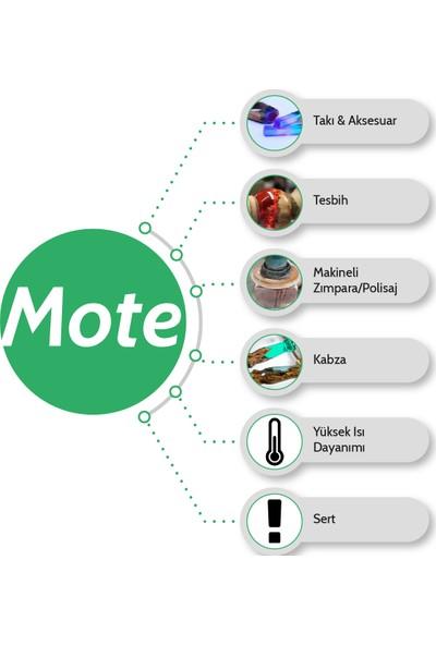 Resinin Mote 1600 Gr A+B Yüksek Isı Dayanımlı Şeffaf Epoksi Reçine (1200 Gr Reçine + 400 Gr Sertleştirici)