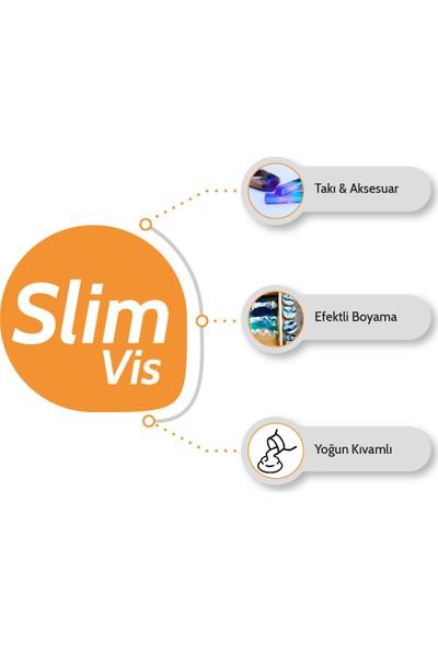 Resinin Slim Vis 1500 Gr A+B Yoğun Kıvamlı Şeffaf Epoksi Reçine (1 Kg Reçine + 500 Gr Sertleştirici)