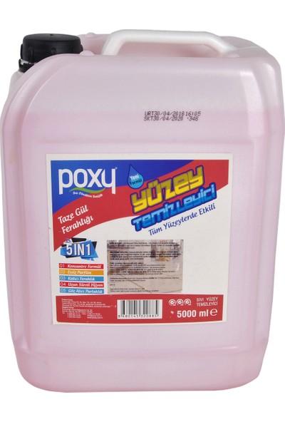 Poxy Yüzey Temi̇zleyi̇ci̇ Taze Gül Ferahliği 5 lt