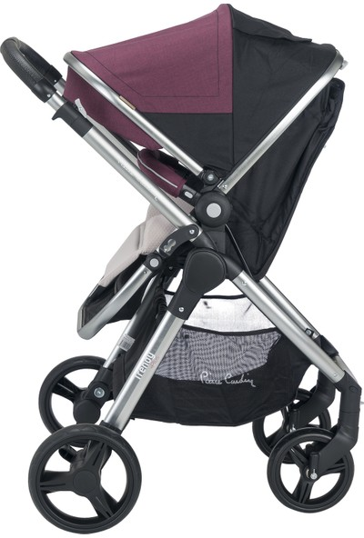 Pierre Cardin Trendy +Plus Travel Sistem Bebek Arabası Bordo