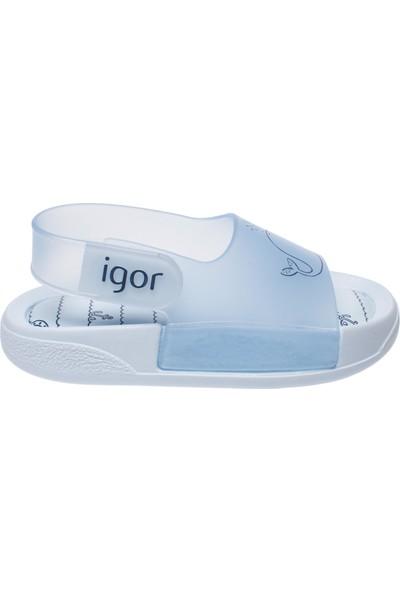 Igor 10235 Baby Ballena Mavi Kız Çocuk Sandalet