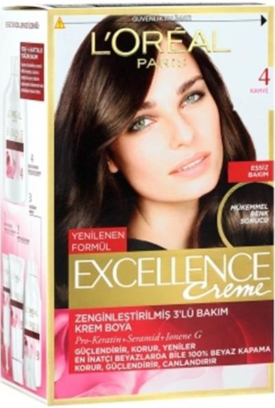 L'Oréal Paris Excellence Kahve 4 Saç Boyası