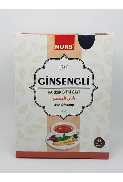 Nurs Ginseng Çayı 42'Li Süzen Poşet Çay