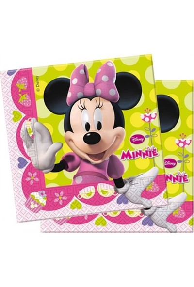 Cakes Party Lisanslı Minnie Mouse Peçete