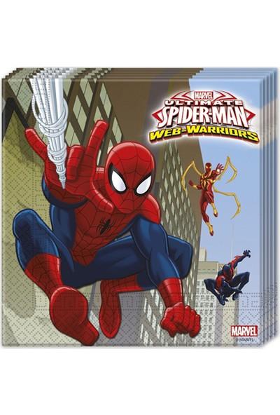 Cakes Party Lisanslı Spiderman Peçete