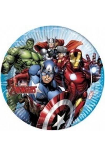 Cakes Party Lisanslı Marvel Tabak