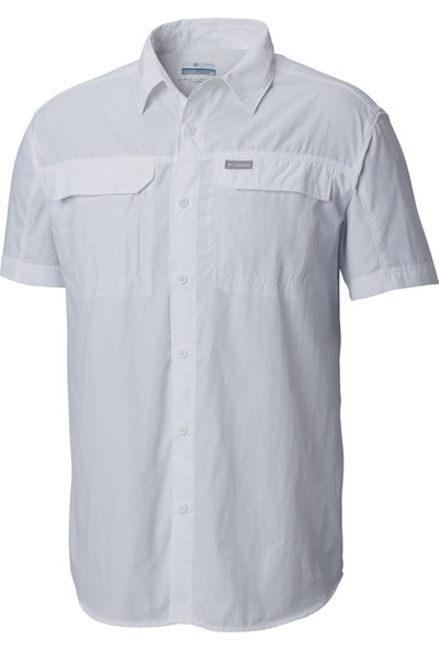 Columbia Ao0647 Silver Ridge 2.0 Short Sleeve Gömlek Beyaz