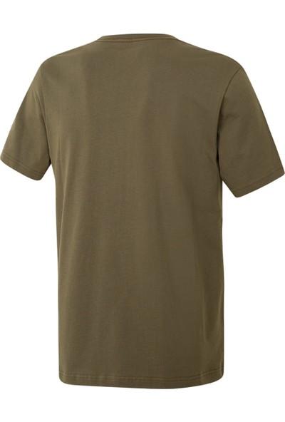 Columbia Csc Basic Logo Short Sleeve Tişört Yeşil
