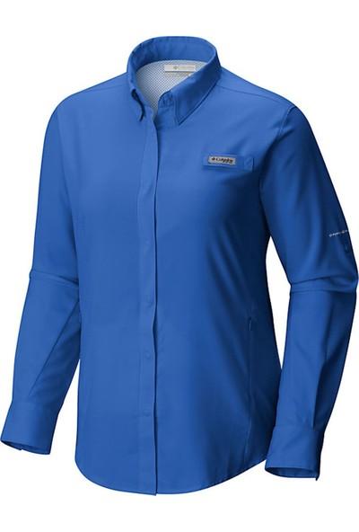 Columbia Fl7278 Tamiami Iı Ls Kadın Gömlek Mavi
