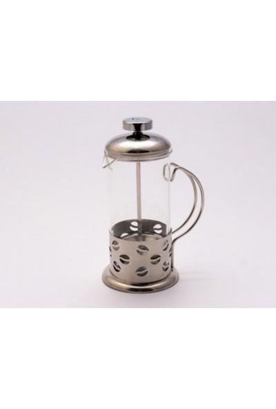 Mitra Bitki-Çay-Kahve Pres Kupa Metal