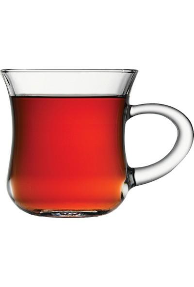 Paşabahçe 55411 Keyif Kulplu Çay Bardak 6 lı *