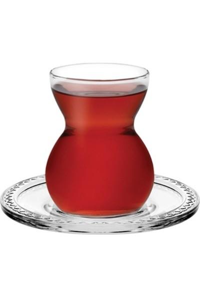 Paşabahçe 42841 Çay Bardak Dantel 6 lı