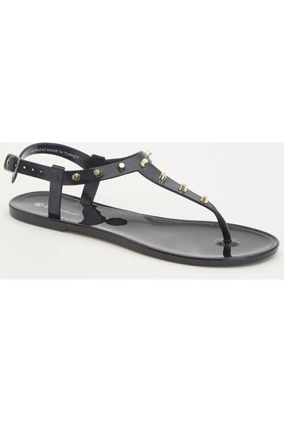 DeFacto Taşlı Parmak Arası Sandalet