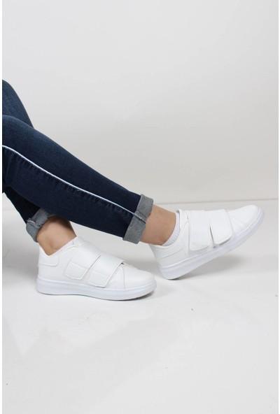 Oksit Cırtlı Kadın Sneaker