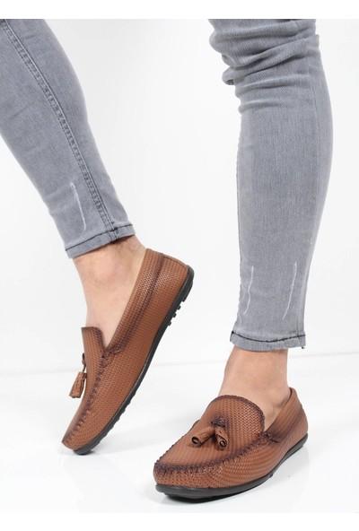 Oksit Dkr 489 Hasir Rok Loafer Ayakkabı