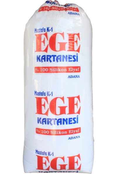 Ege Tam Silikonlu Boncuk Elyaf 500 gr