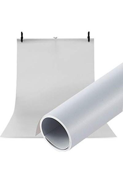 Hdg Ürün Fotoğraf Çekim Stüdyo Plastik Fotoğraf Fonu 70X100CM Beyaz Fon