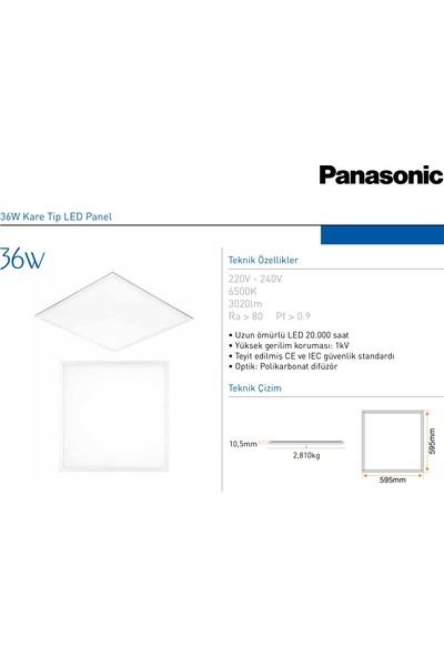 Panasonic 36W Slim LED Panel Panel Armatür