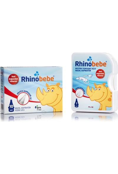 Rhinobebe Nazal Burun Aspiratörü + Yedek Uç 1 Kutu