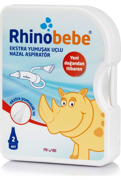 Rhinobebe Nazal Burun Aspiratörü 1 Kutu
