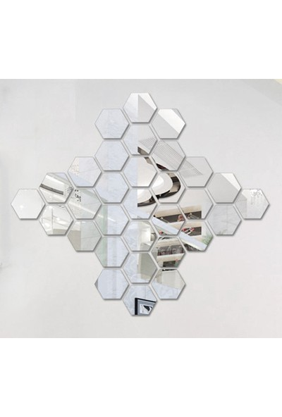 Stdesign 12 Li Petek Ayna Dekoru