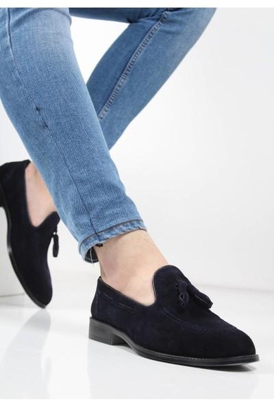 Corcuk Hakiki Deri Süet Ayakkabı
