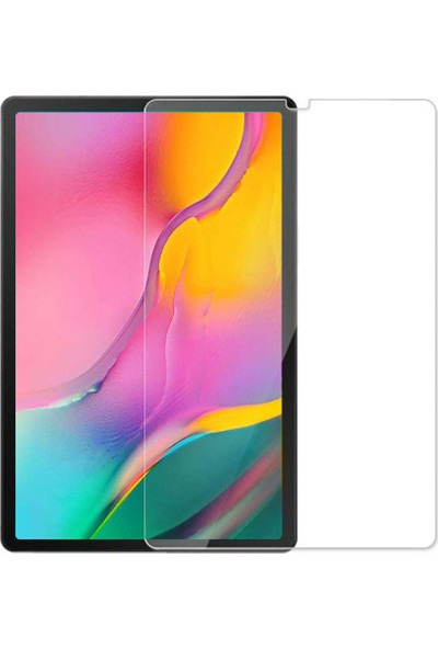 Dafoni Samsung Galaxy Tab A 10.1 (2019) T510 Tempered Glass Premium Tablet Cam Ekran Koruyucu