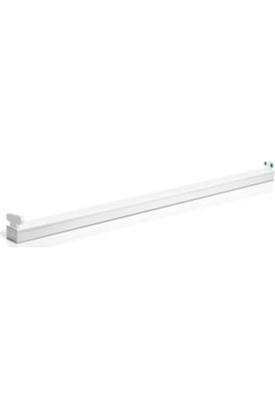 Verbati̇m Batten Lumi̇nai̇re LED Twi̇n Fi̇tti̇ng 1200 mm IP20 052429-803
