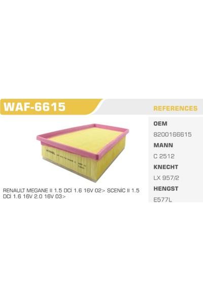 Winkel Waf-6615 Megane II Hava Filtresi
