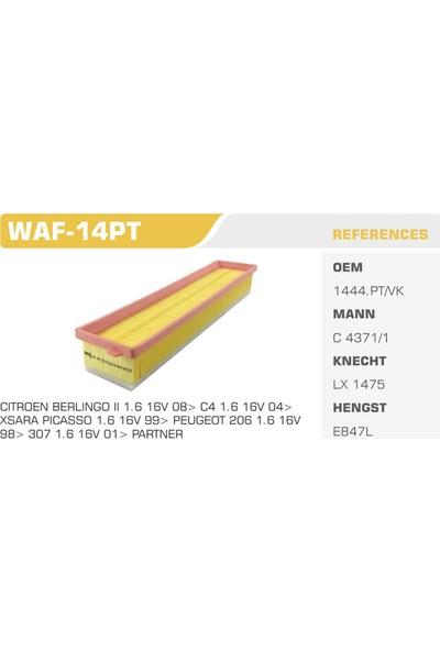 Winkel Waf-14Pt 206-306-Berlingo Pejo Hava Filtresi