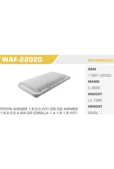 Winkel Waf-22020 Corolla Wtı 02-05 Hava Filtresi