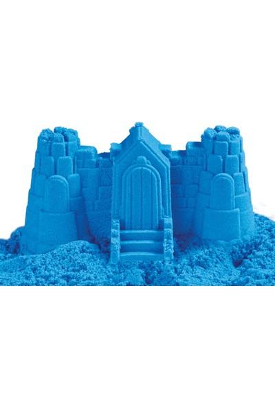 Heroes Oyun Kumu 2,5 kg Dağılmayan Kinetik Kum Mavi