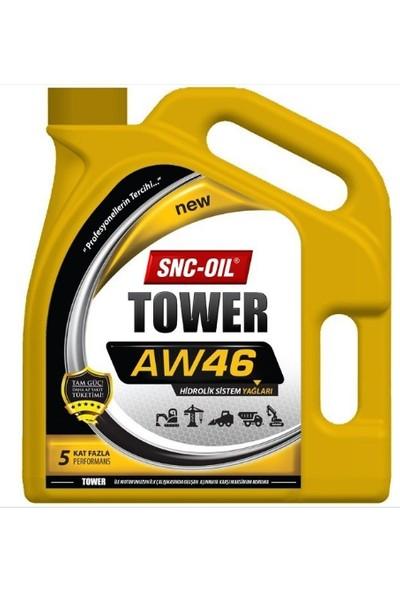 Snc Oil Tower Aw 46 3 Litre Hidrolik Yağ