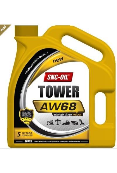Snc Oil Tower Aw 68 3 Litre Hidrolik Yağ