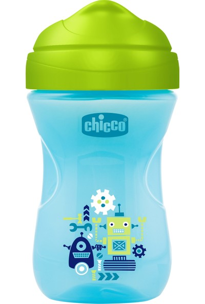 Chicco Easy İleri Seviye Bardak 266 ml 12 Ay+ Erkek