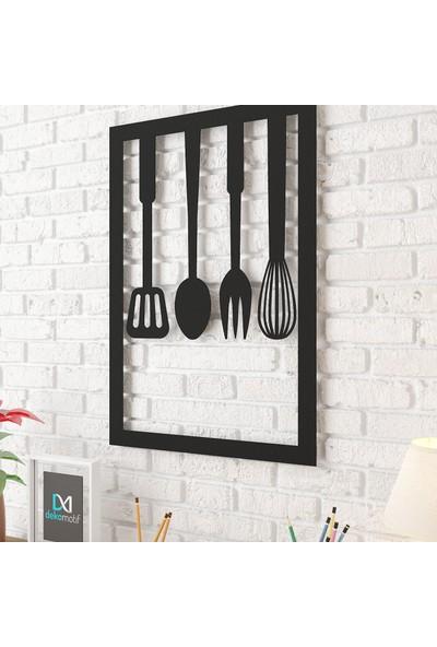 Dekomotif Mutfak Gereçleri Metal Tablo Ev/ofis Dekorasyonu