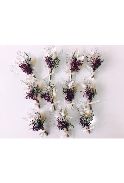 Eva Flore 5 Adet Sağdıç Yaka Çiçeği