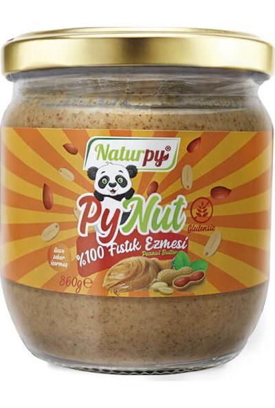 Pynut %100 Fıstık Ezmesi 360 gr Şekersiz ve Glutensiz