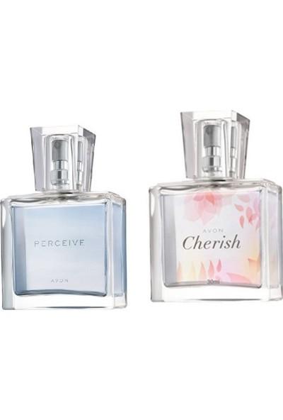 Avon Cherish 30 ml Kadın Parfüm ve Avon 30 ml Perceive Kadın Parfüm