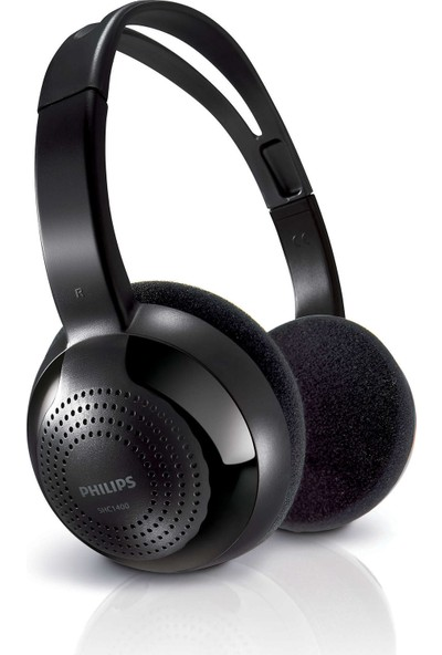 Philips SHC1400/10 Kablosuz Hi̇-Fi̇ Kulaküstü Kulaklık