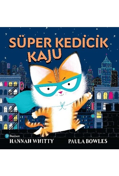 """Süper Kedicik Kaju"" (3+ Yaş Hikaye Kitabı) - Hannah Whitty"