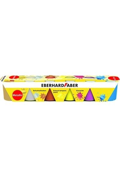 Eberhard Faber School Tempera 6X25Ml Set Metalik