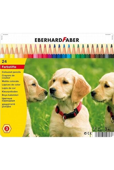 Eberhard Faber Kuruboya Kalemi 24 Renk Metal Kutu