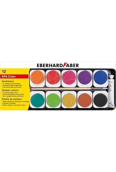 Eberhard Faber Sulu Boya Opak 12 Renk Plastik Kutu