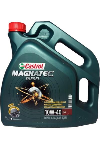 Castrol Magnatec 10W-40 B4 4 Litre Motor Yağı ( Üretim Yılı: 2020 )