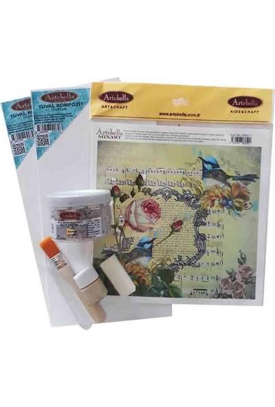 Artebella Syst0014 Sizde Yapabilirsiniz Set Kuşlar