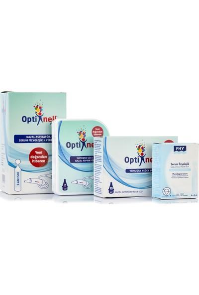 Optinell Plus Nazal Burun Aspiratör Serum Fizyolojik Ve Otribebe Uyumlu Yedek Uç