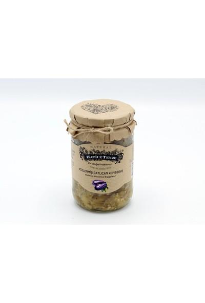Hatice Teyze Közlenmiş Patlıcan Konservesi - 600 gr